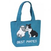 Vanessa Bee Best Mates Jute Tote Bag