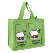 Vanessa Bee Weather in Scotland Jute Bag