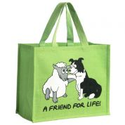 Vanessa Bee A Friend for Life Jute Bag
