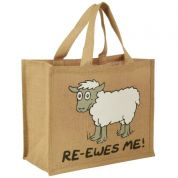 Vanessa Bee Re Ewes Me Jute Bag