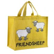 Vanessa Bee Friendsheep Jute Bag