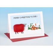 Vanessa Bee Merry Christmas to Ewe Greeting Card