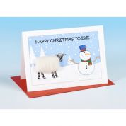 Vanessa Bee Happy Christmas to Ewe Greeting Card