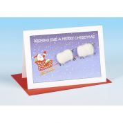 Vanessa Bee Wishing Ewe a Merry Christmas Greeting Card