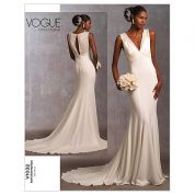 Vogue Ladies Sewing Pattern 1032 Elegant Wedding Dress