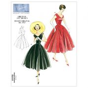 Vogue Ladies Sewing Pattern 1172 Vintage Style Dress & Belt