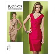 Vogue Ladies Sewing Pattern 1182 Fitted Princess Seam Dresses
