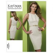 Vogue Ladies Easy Sewing Pattern 1183 Fitted Lined Dress