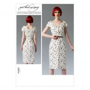 Vogue Ladies Sewing Pattern 1350 Shirt Style Dress