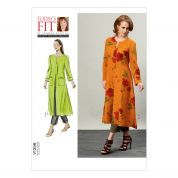 Vogue Ladies Sewing Pattern 1356 Long Length Coat & Tapered Pants