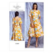 Vogue Ladies Easy Sewing Pattern 1397 Dress with Fitted Bodice