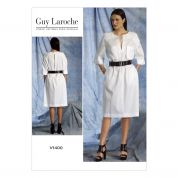 Vogue Ladies Easy Sewing Pattern 1400 Dress with Pockets