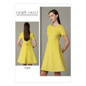 Vogue Ladies Sewing Pattern 1404 Slightly Flared Fitted Dress
