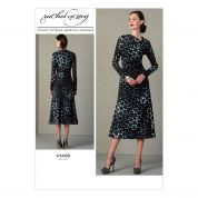 Vogue Ladies Sewing Pattern 1406 Designer Dress