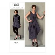 Vogue Ladies Easy Sewing Pattern 1410 Loose Fitting Pullover Dresses