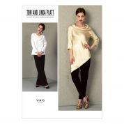 Vogue Ladies Easy Sewing Pattern 1415 Tunic Tops & Pants