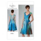 Vogue Ladies Easy Sewing Pattern 1433 Pleated & Gathered Skirt Dress