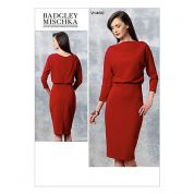 Vogue Ladies Easy Sewing Pattern 1460 Blouson Bodice Dress