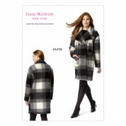 Vogue Ladies Sewing Pattern 1479 Loose Fitting Double Breasted Pea Coat