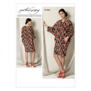 Vogue Ladies Sewing Pattern 1482 Batwing Dolman Sleeve Dress