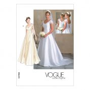 Vogue Ladies Sewing Pattern 2788 Bridal Wedding Dresses