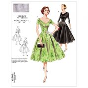 Vogue Ladies Sewing Pattern 2903 Vintage Style Dresses