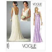 Vogue Ladies Sewing Pattern 2965 Bridal Wedding Dress