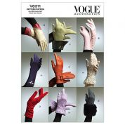 Vogue Ladies Sewing Pattern 8311 Gloves in 8 Variations