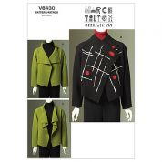 Vogue Ladies Easy Sewing Pattern 8430 Loose Fitted Felted Jacket