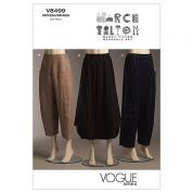 Vogue Ladies Easy Sewing Pattern 8499 Loose Fit Skirt & Pants