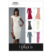 Vogue Ladies Easy Sewing Pattern 8685 Close Fitting Dresses