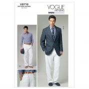 Vogue Mens Sewing Pattern 8719 Jacket & Pants Suit