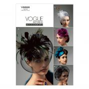 Vogue Ladies Accessories Sewing Pattern 8868 Fascinators & Head Pieces