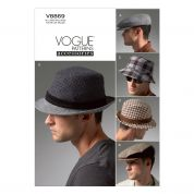 Vogue Mens Accessories Sewing Pattern 8869 Hats & Caps