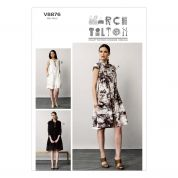 Vogue Ladies Easy Sewing Pattern 8876 Shirt Style Dresses