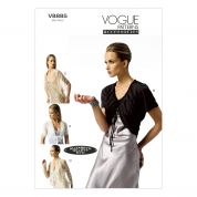 Vogue Ladies Easy Sewing Pattern 8885 Cardigans & Boleros