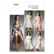 Vogue Ladies Easy Sewing Pattern 8888 Dressing Gown & Sleepwear