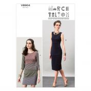 Vogue Ladies Easy Sewing Pattern 8904 Layered Dresses