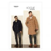 Vogue Mens Sewing Pattern 8940 Jacket, Coat & Trouser Pants