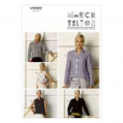 Vogue Ladies Easy Sewing Pattern 8982 Jackets & Waistcoats