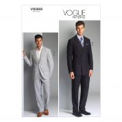 Vogue Mens Sewing Pattern 8988 Smart Jacket & Trouser Suits