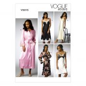 Vogue Ladies Sewing Pattern 9015 Chemise & Dressing Gowns