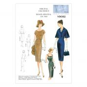Vogue Ladies Sewing Pattern 9082 Vintage Style Jacket, Top & Dress