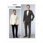 Vogue Mens Sewing Pattern 9097 Jacket & Trouser Pant Suit