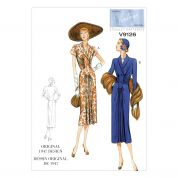 Vogue Ladies Sewing Pattern 9126 Vintage Style Dresses