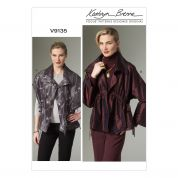 Vogue Ladies Easy Sewing Pattern 9135 Waistcoat & Jacket
