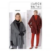 Vogue Ladies Sewing Pattern 9140 Wrap Jacket & Pants