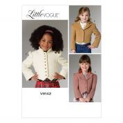 Vogue Girls Sewing Pattern 9142 Fitted Lined Jackets