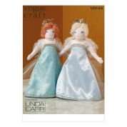 Vogue Crafts Sewing Pattern 9144 Dolls & Doll Clothes