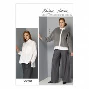 Vogue Ladies Sewing Pattern 9162 Jacket, Shirt & Trouser Pants